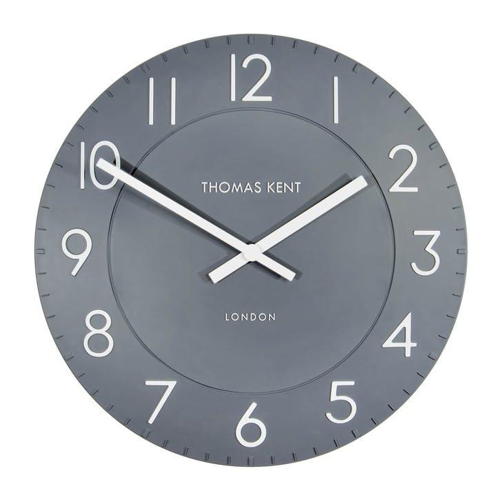 Townhouse Clock, 51cm, Slate