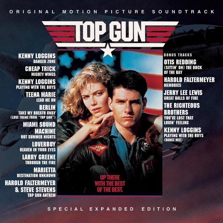 "Top Gun Soundtrack 12"" Vinyl"