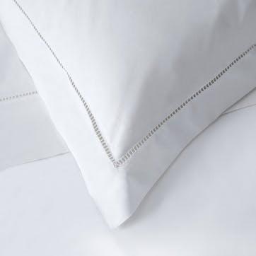 Santorini Duvet Cover, King, White