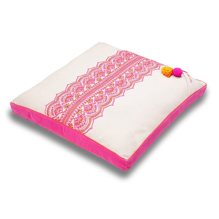 Rangoli Zabuton Meditation Cushion