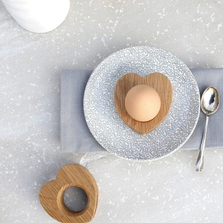 Pair of Mr & Mrs Heart Egg Cups