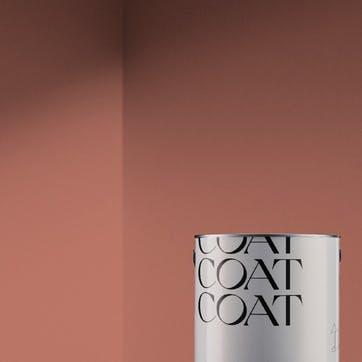 Flat Matt Wall & Ceiling Paint, Sima Terracotta Red 2.5L