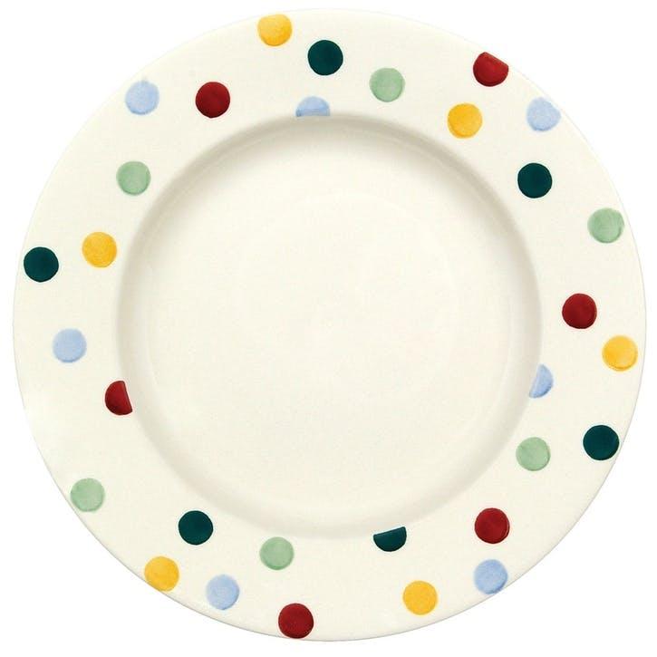 Polka Dot Plate, 27.5cm