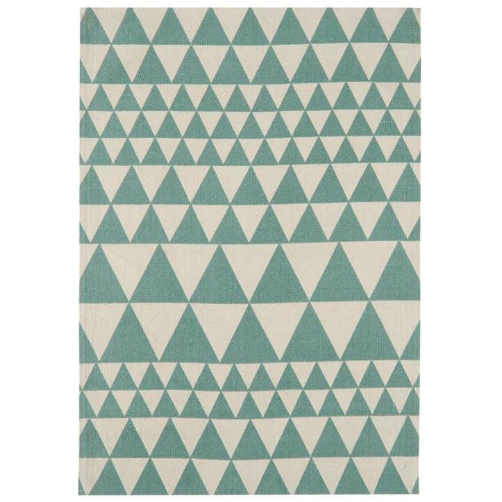 Onix Triangles Rug - 1.6 x 2.3m; Teal
