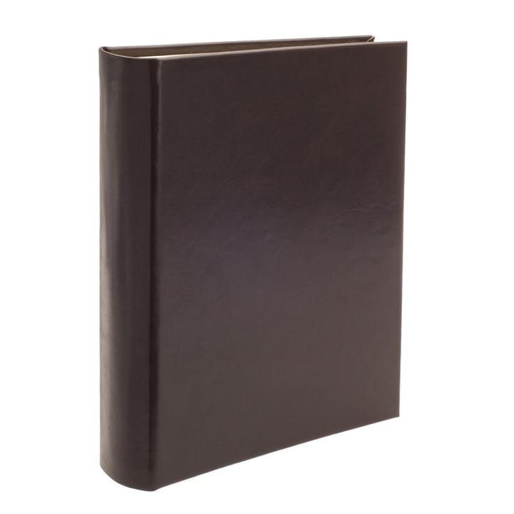Safari Full Bound Portrait Photo Album, Mocha