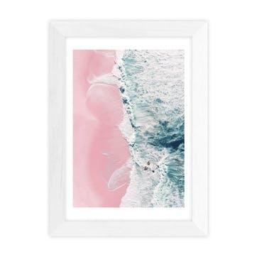 Ingrid Beddoes, Sea of love II Framed Art Print