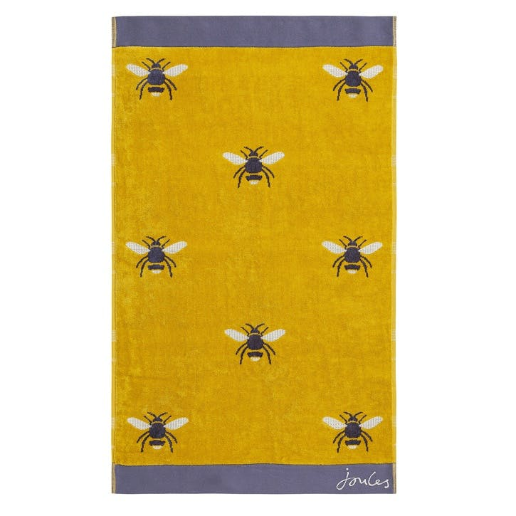 Botanical Bee Bath Towel
