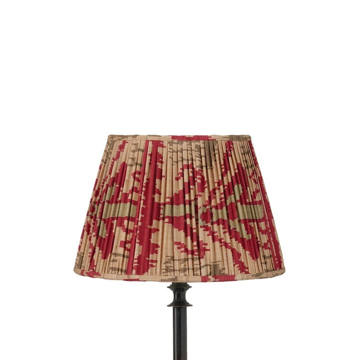 Madura Pleated Empire Lampshade, 35cm