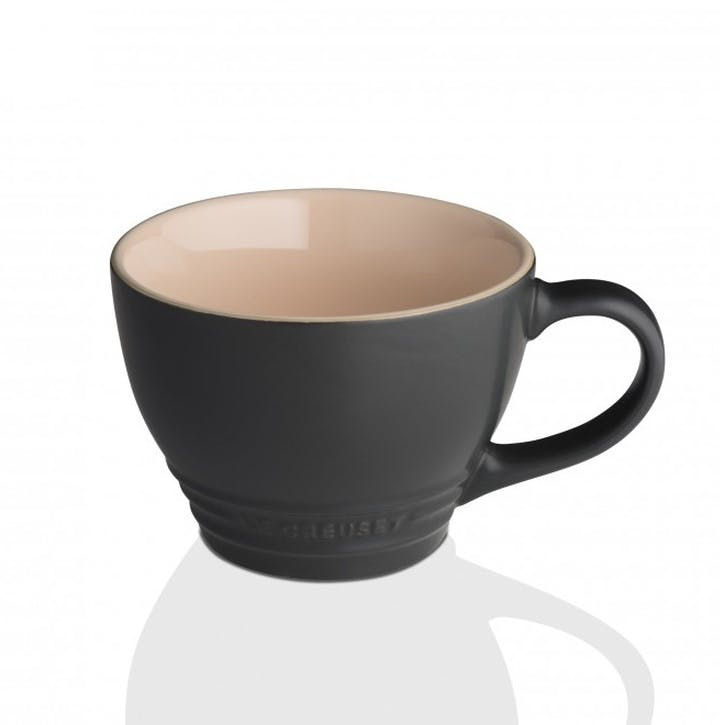 Stoneware Grand Mug - 400ml; Satin Black