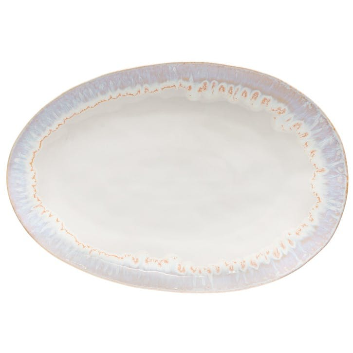 Brisa Salt Oval Serving Platter