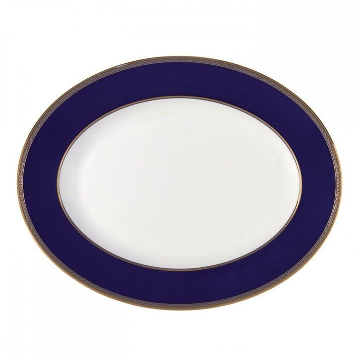 Renaissance Gold Oval Dish, 35cm