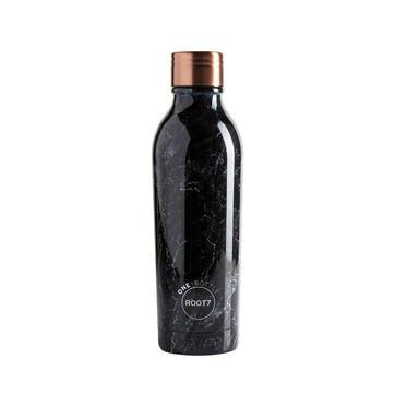 Black Marble Bottle