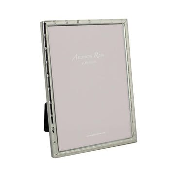 """Cane Silver Plated Photo Frame, 8"""" x 10"""""""