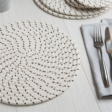 Rope Effect Place Mat, Set of 2