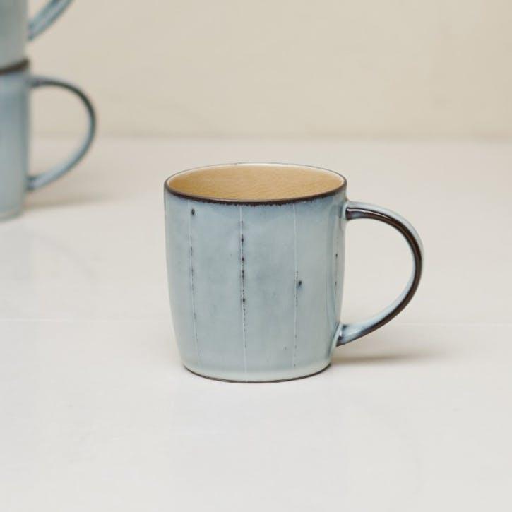 Bao Handled Mug; Mustard