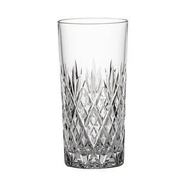 Edinburgh Tall Crystal Tumblers, Set of 2