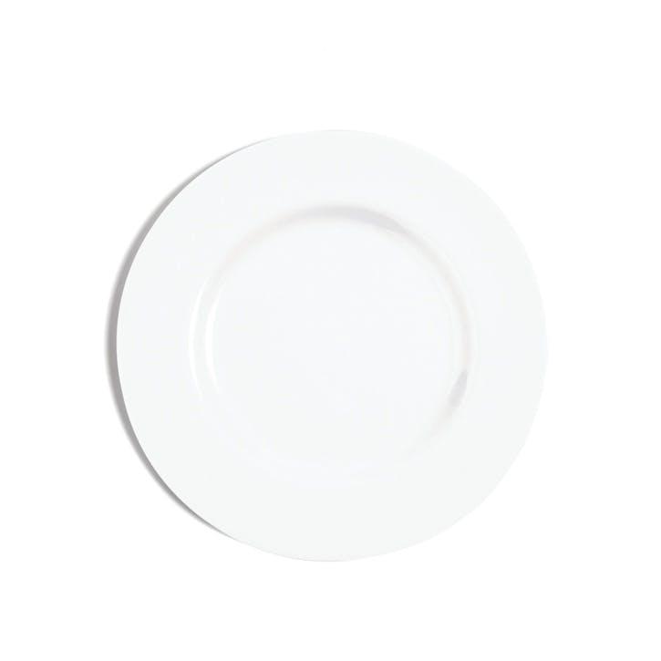 White Rimmed Side Plate