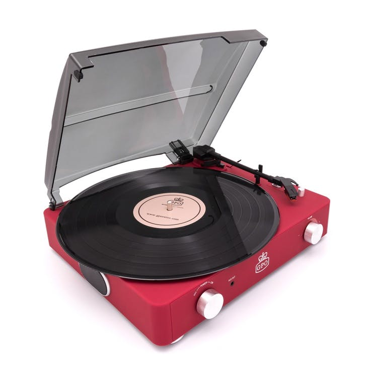 Stylo II Turntable; Red
