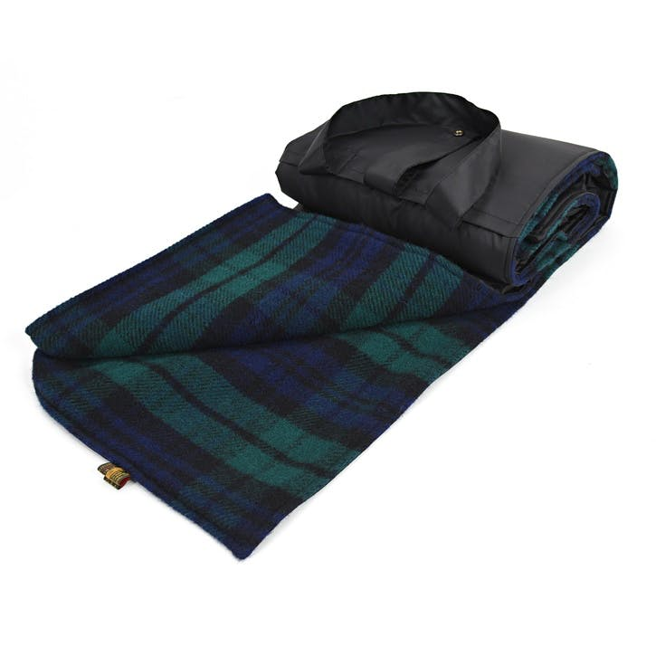 Eventer Picnic Rug - Large; Blackwatch