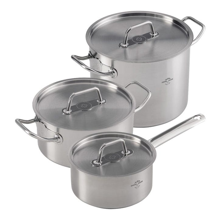 Montreux 3 Piece Cookware Set