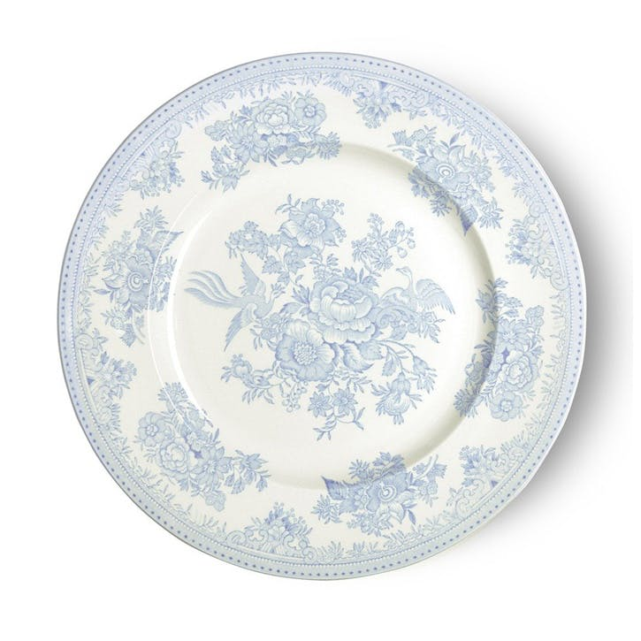 Asiatic Pheasants Plate, 25cm, Blue