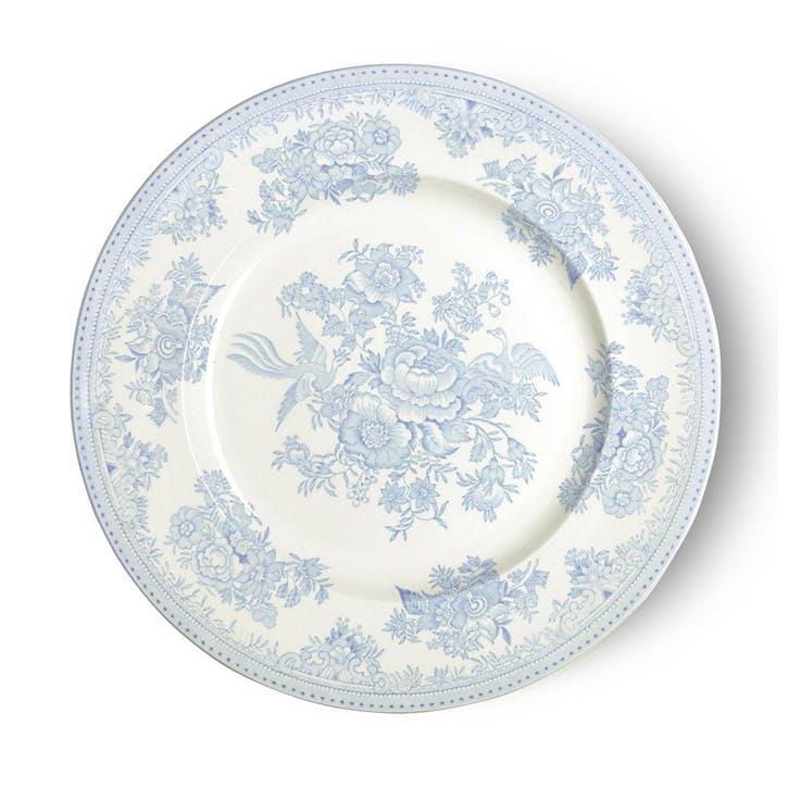 Asiatic Pheasants Plate, 25cm, Blue