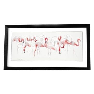 Aimee Del Valle Toute en Rose Framed Print - 66 x 116cm