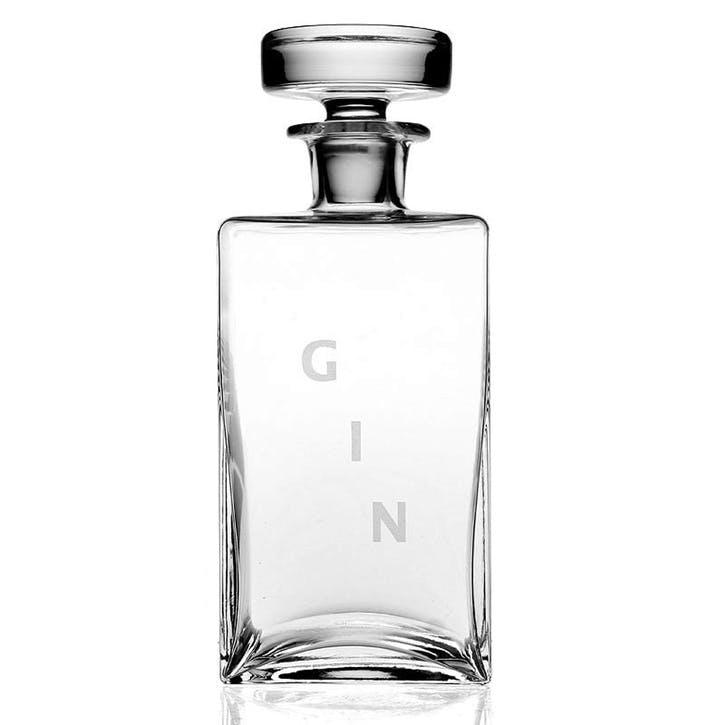 Lillian Squared Gin Decanter