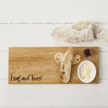 """""""Loaf & Toast"""" Serving Platter"""