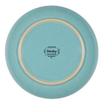 Azure Coast Serving Bowl, 24.5cm, Blue
