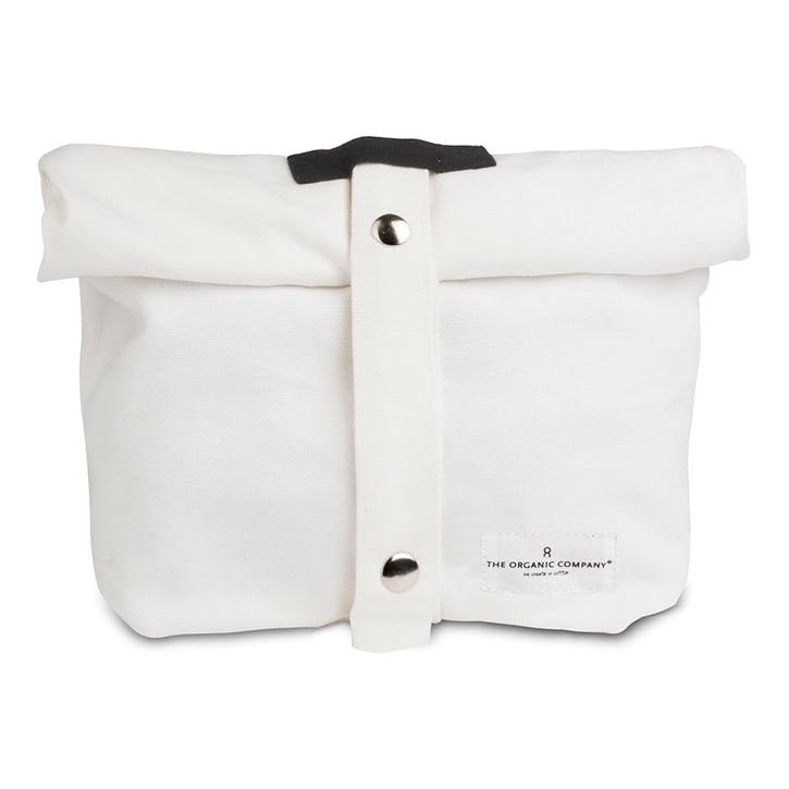 Canvas Lunch Bag, L30 x W39cm, Natural White