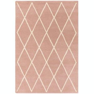 Albany Diamond Rug, 1.6 x 2.3m, Pink