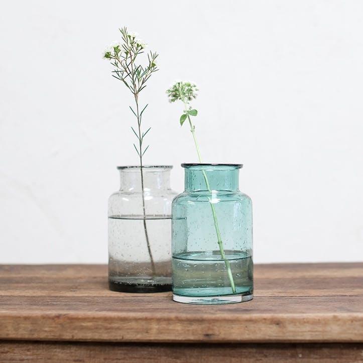 Toska Small Vase; Teal
