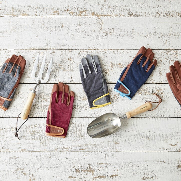 Men's Gardening Gloves, Slate
