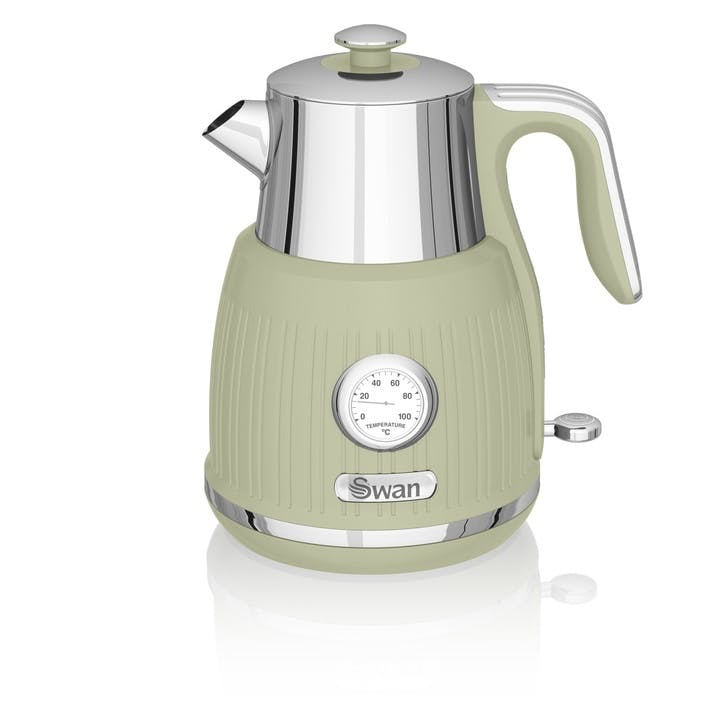 Retro Jug Kettle, Green