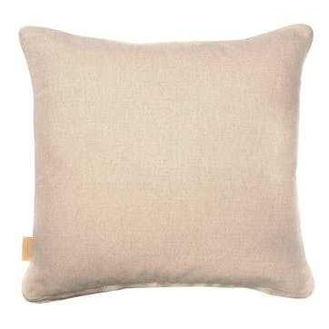 Lavender Tapestry, Square Linen Cushion