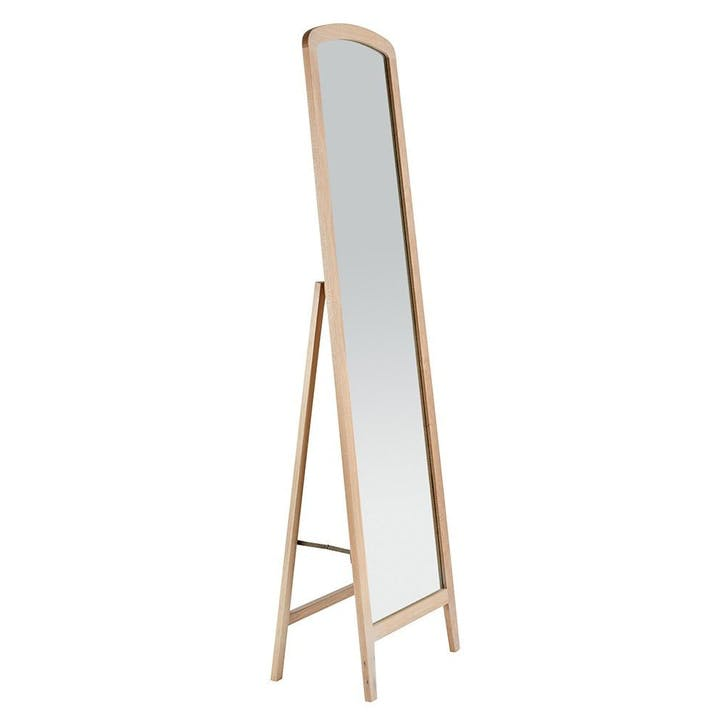 Crawford Mirror Light Oak