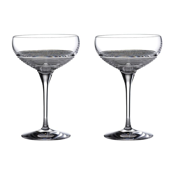 Mixology Rum Coupe, Set of 2