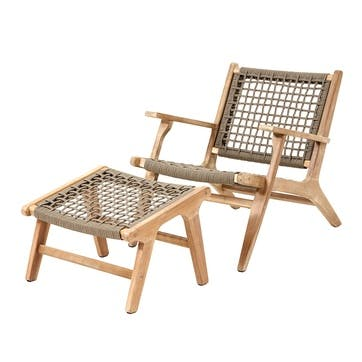 Sestro, Lounge chair and stool