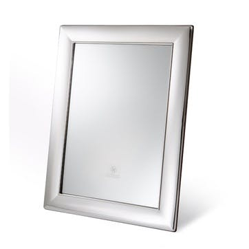 Mirror with Sterling Silver Frame