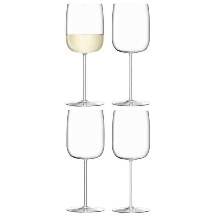 Borough Wine Glass, Set of 4, 380ml