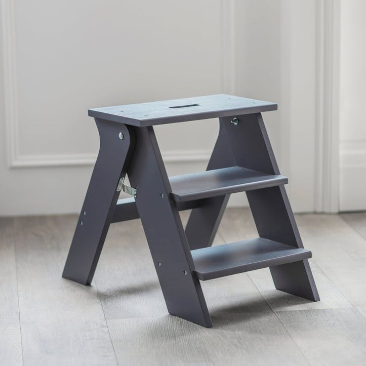 Step Stool, Charcoal