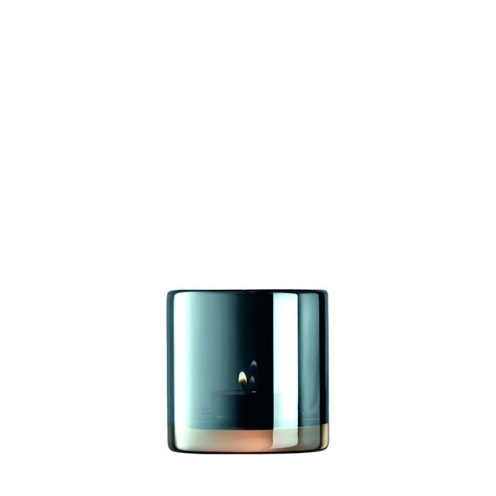 Époque, Tealight Holder, 8.cm, Sapphire