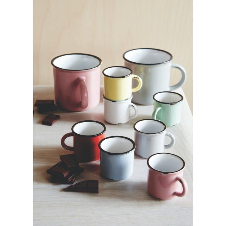 Tinware Espresso Mug, Set of 6