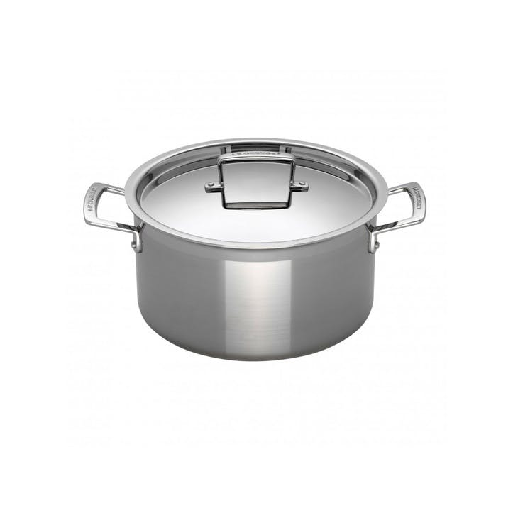 3-Ply Stainless Steel Deep Casserole - 20cm