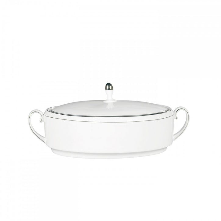 Blanc Sur Blanc Lidded Vegetable Dish
