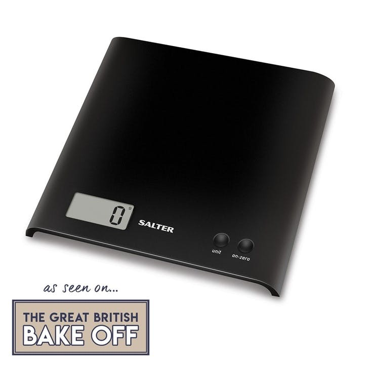 Arc Electronic Digital Kitchen Scales, Black