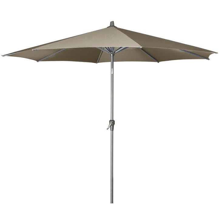 Riva Round Parasol - 3m; Taupe