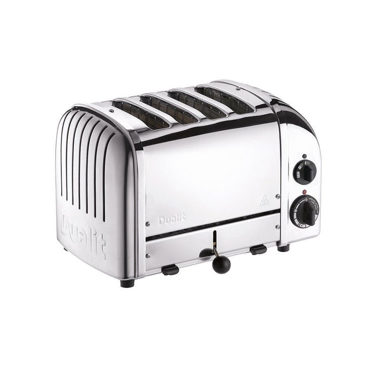 Classic Toaster, 4 Slot; Polished