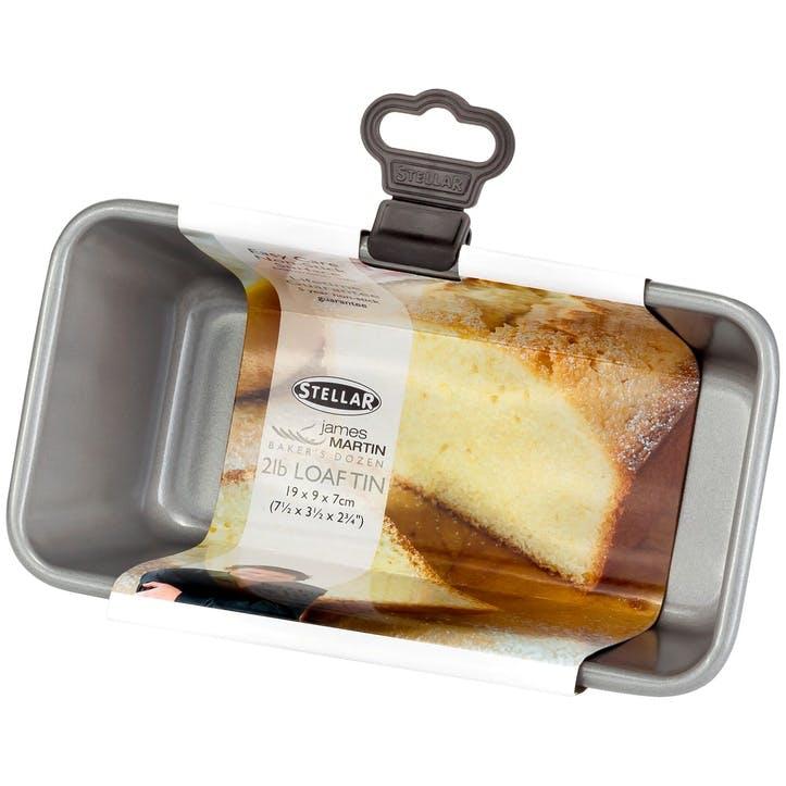 James Martin Bakers Dozen 1Ib Loaf Tin; 19 x 9 x 7cm